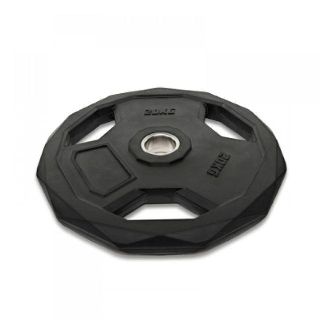 Disco olímpico 51mm acabado premium hexagonal