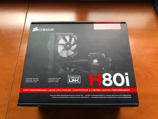 Refrigeracion liquida Corsair H80i