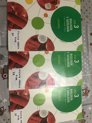 Libros Biologia Geologia 3ESO