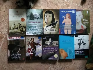 Lote libros de bolsillo