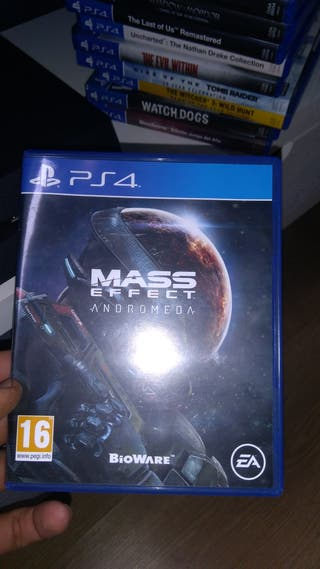 Juego ps4, play 4, Mass effect
