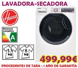 Lavadora-Secadora Hoover 13+8kg A