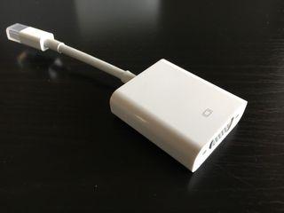 Apple display port a VGA
