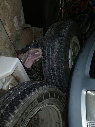 ruedas furgoneta