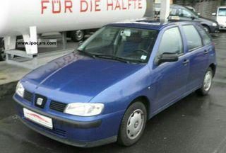 seat ibiza 2002 1.4 MPI gasolina