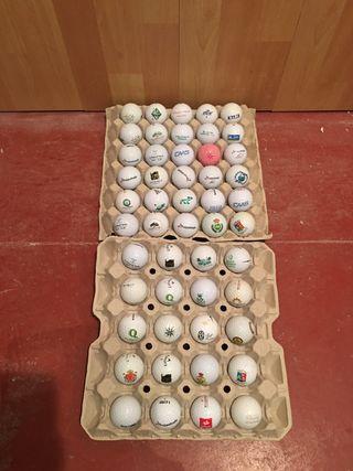 Bolas de golf con logos