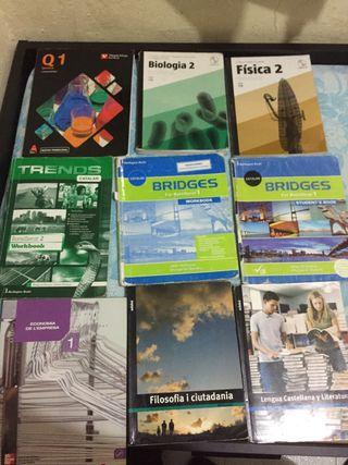 Libros de bachillerato pack