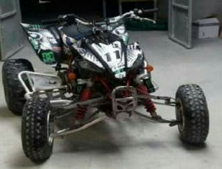 quad yamaha yfz 450 2004