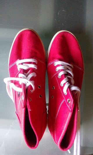 Zapatillas DC rojas