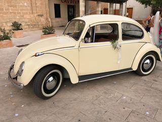 escarabajo clasico para bodas