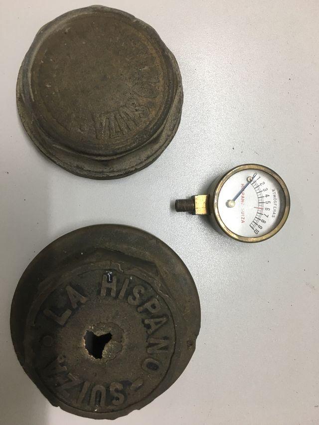 3 piezas de Hispano Suiza