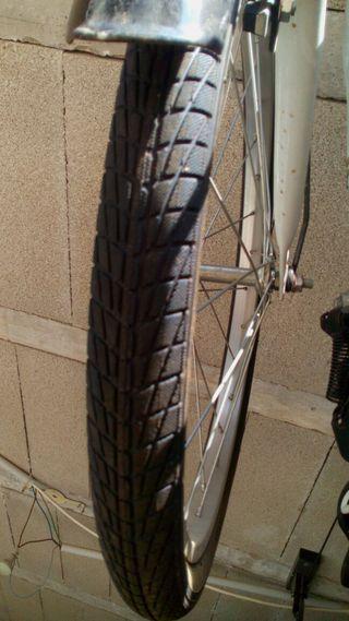 Bicicleta plegable muy poco uso