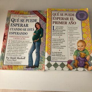 Libros embarazo y primer año