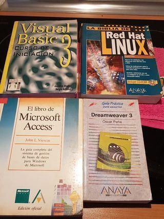 lote de libros de informatica