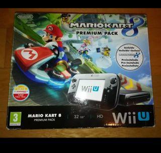 Consola wii U con Mario Kart 8 Pack Premium