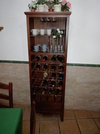 Mueble para botellas