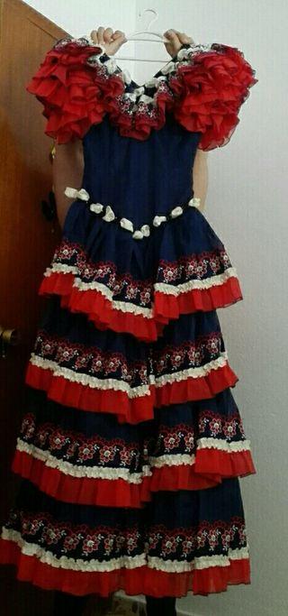 Vestido de gitana o flamenca