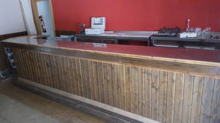 Barra bar/restaurante inox