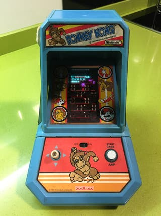 Tabletop Coleco Donkey Kong,casio,sega,Bandai,tipo nintendo game watch