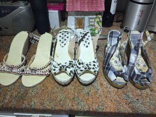 Sandalias como nuevas
