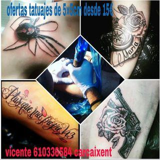se quiere hacer un tatuaje es la oportunidad