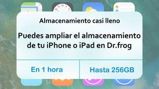 Ampliación de memoria para iPhone y iPad