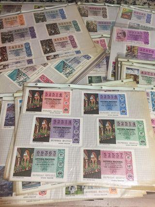 Billetes Antiguos de Loteria