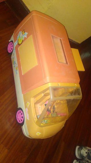caravana barbie antigua