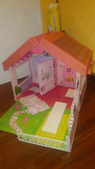 casa maletin barbie antigua