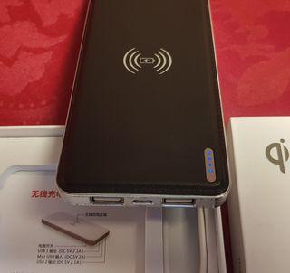 Power Bank bateria wireless inalambrica