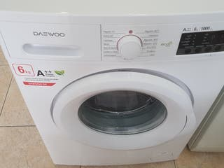 lavadora Daewoo 7 kg 1.000 rpm