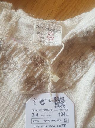 Zara talla 3-4