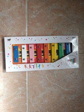 Xilófono de colores