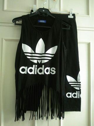 malla camiseta chándal pantalon Adidas Talla S y M