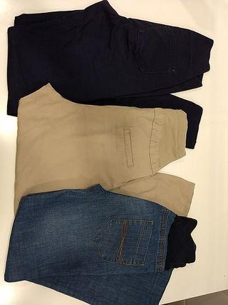 Lote 3 pantalones embarazada