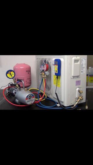 Reparaciones de aires acondicionados y montaje