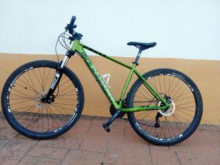 Bicicleta Mondraker frenos aceite