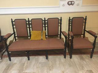 sillas, tresillo y sillones