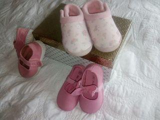 lote zapatos bebé.num19/20