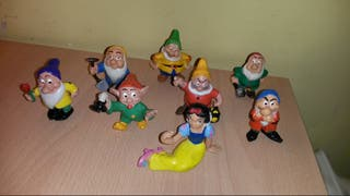 Lote Blancanieves Enanitos disney comics spain PVC