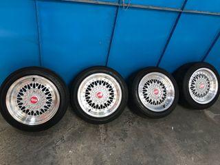 Llantas bbs RS 15 4x100 y 4x108