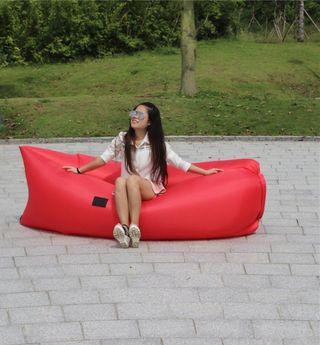Tumbona inflable playa piscina asiento camping
