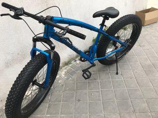 Bici de montaña ruedas gordas