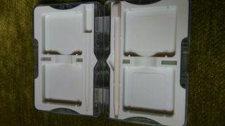 caja para llevar juegos nintendo