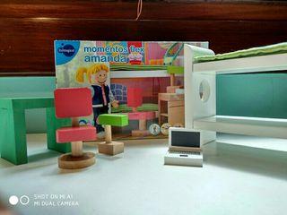 Habitación para casa de muñecas