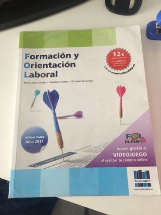 Libro Formación y Orientación Laboral CASI NUEVO