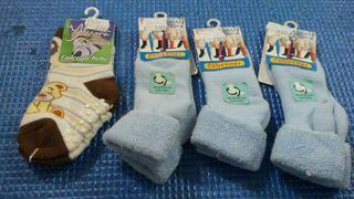 lote calcetines bebe niño nuevos invierno