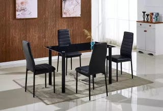 OFERTA !! Mesa comedor + 4 sillas