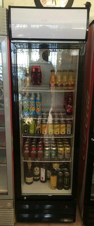 Armario refrigeracion puertas cristal