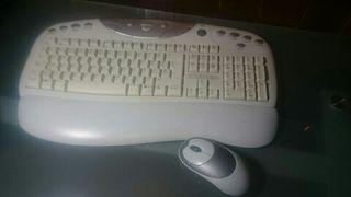 Teclado y ratón de pc